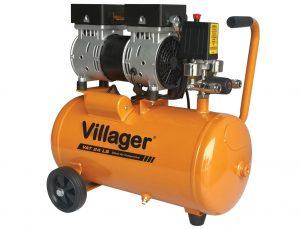 Cichy kompresor bezolejowy VILLAGER VAT 24 LS