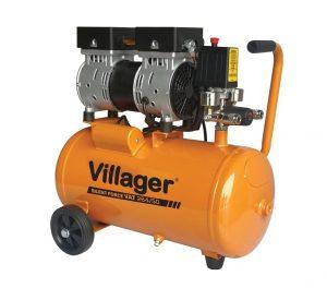 Cichy kompresor bezolejowy VILLAGER Silent Force VAT 264/50